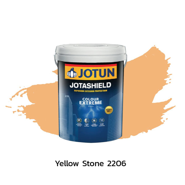 Jotun Paint Jotashield Colour Extreme - Yellow Stone 2206