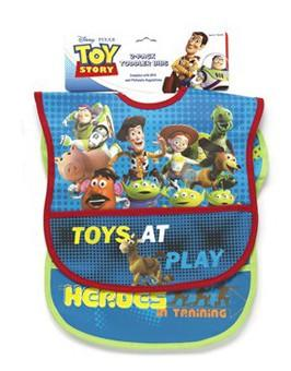 Toy Story 2-pack Bib Set