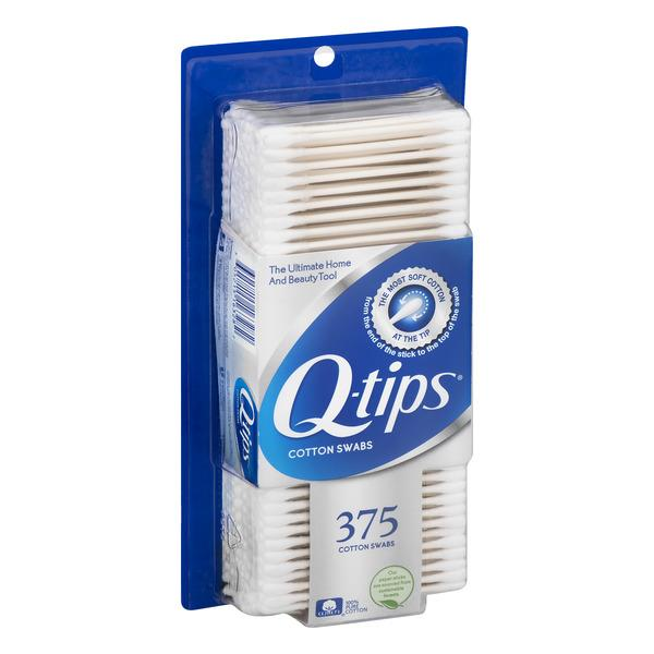 Q-Tips Cotton Swabs, 375 ct.