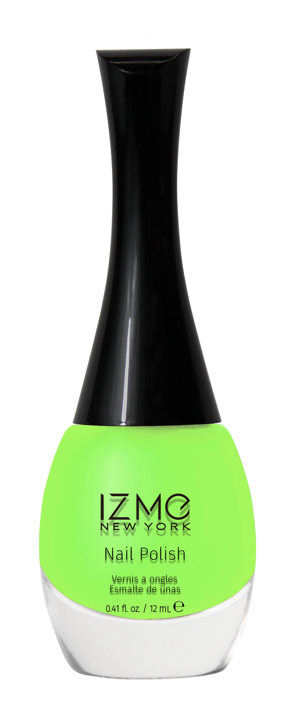 IZME New York Nail Polish – Neon Green – 0.41 fl. Oz / 12 ml