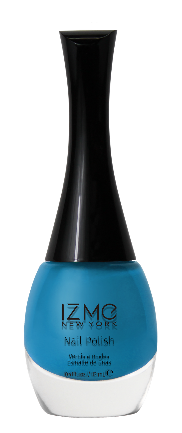 IZME New York Nail Polish – Blue Bird – 0.41 fl. Oz / 12 ml