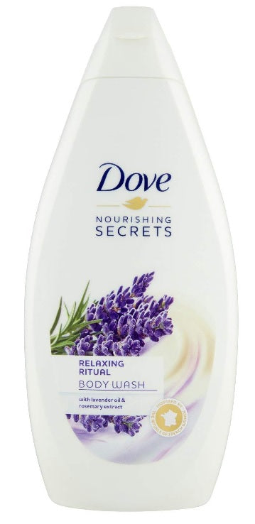Dove Relaxing Ritual Body Wash with Lavender Oil & Rosemary Extract, 500ml
