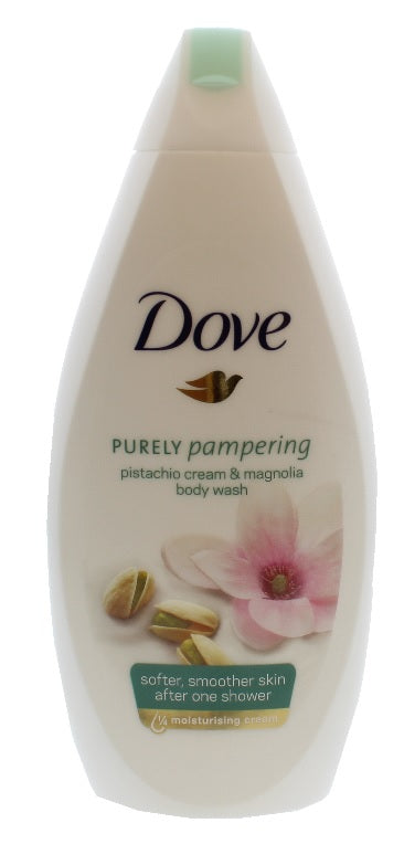 Dove Pistachio Cream & Magnolia Body Wash, 500ml