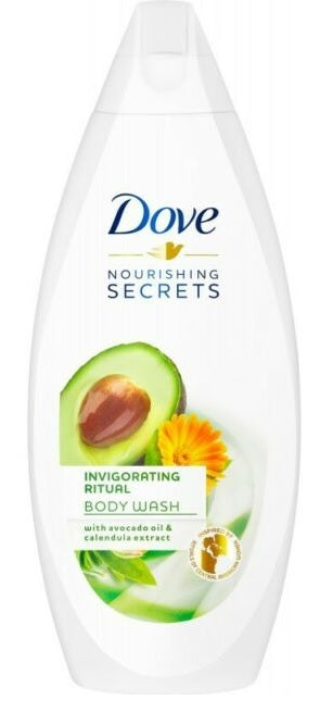 Dove Nourishing Secrets Invigorating Ritual Body Wash, 500ml