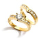 2-ct 14 KT Gold Filled Cubic Zirconia Engagement Ring - Size 10