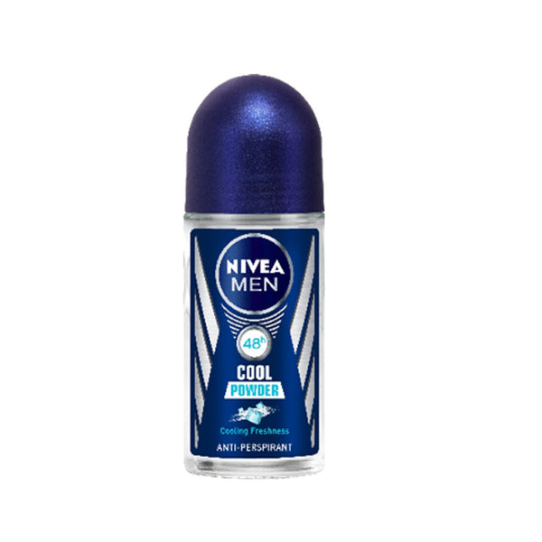 Nivea Men Cool Powder Anti-Perspirant Deo Roll on, 50 ml