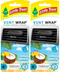 Little Trees Vent Wrap Air Freshener, Caribbean Colada, 4 ct. (Pack of 2)
