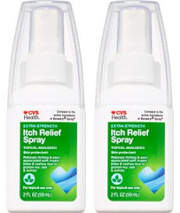 CVS Health Extra Strength Itch Relief Spray 2 oz. (EXP 07/20) (Pack of 2)