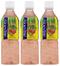 Aloevine Strawberry Drink, 500 ml (Pack of 3)