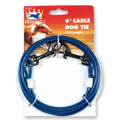 6' Cable Dog Tie