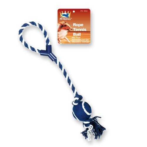 Dog Rope Tennis Ball Toy, 1-ct.