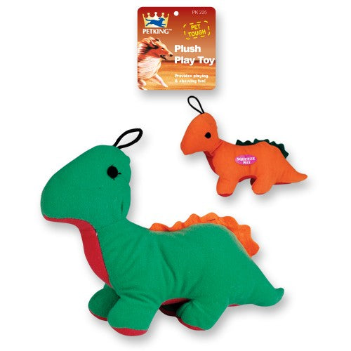 Plush Play Dog Toy Dinosaur, 1-ct.