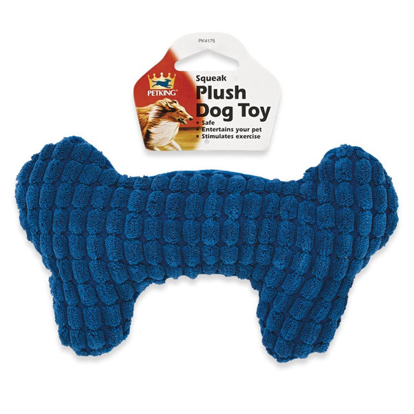 Squeak Plush Dog Toy Bow Design, 1-ct.