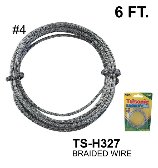 #4 Braided Wire, 6 ft.