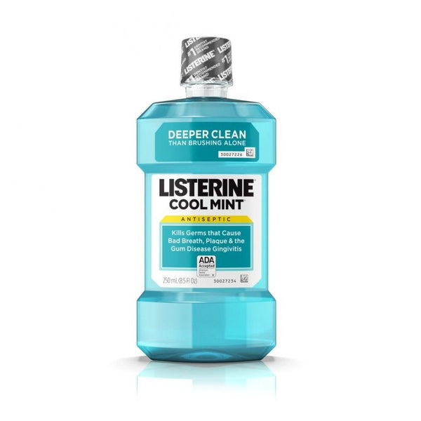 Listerine Antiseptic Mouthwash Cool Mint, 250 ml