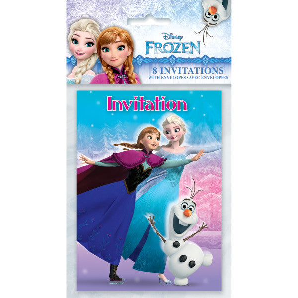 Disney Frozen Invitations, 8ct