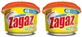 Antibacterial Lavaplatos Zagaz Limoncello, 425g (Pack of 2)