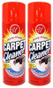 Heavy Traffic Carpet Cleaner Foam, 13 oz. (Pack of 2)