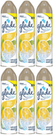 Glade Spray Lemon Fresh Air Freshener, 8 oz (Pack of 6)