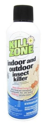 Kill Zone Indoor and Outdoor Insect Killer, 3 oz.