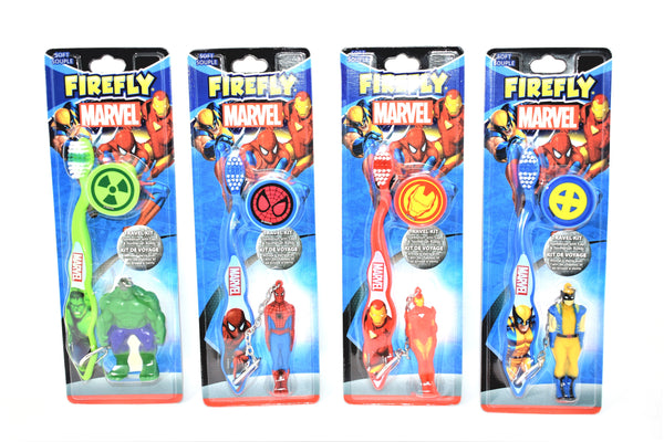 Marvel Firefly Superhero Toothbrush for Kids, 1 ct.