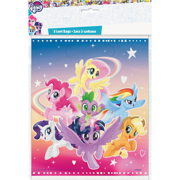 My Little Pony Loot Bags, 8ct