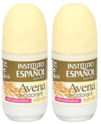 Avena Roll-On Deodorant 100% Avena Natural, 75ml (Pack of 2)