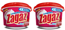 Antibacterial Lavaplatos Zagaz Frutos Rojos, 425g (Pack of 2)