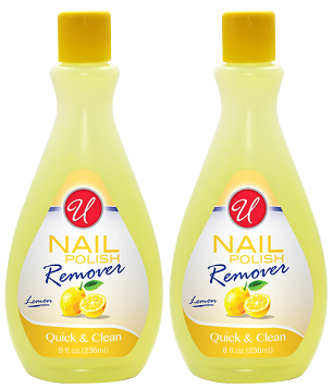 Lemon Nail Polish Remover, 8 fl oz. (Pack of 2)