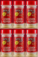 Spice It Family Size Lemon Peeper, 5.50 oz (Pack of 6)