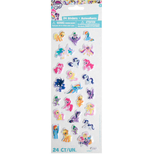 My Little Pony Puffy Sticker Sheet, 1ct