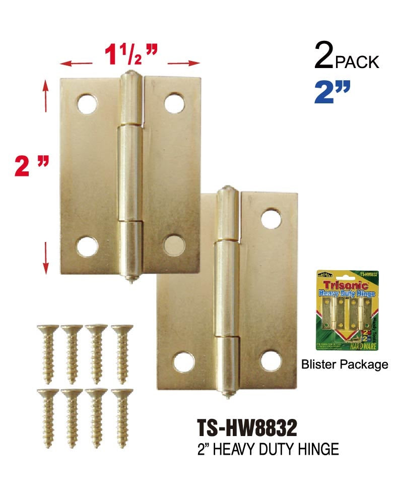 Heavy Duty Hinge, 2-ct.