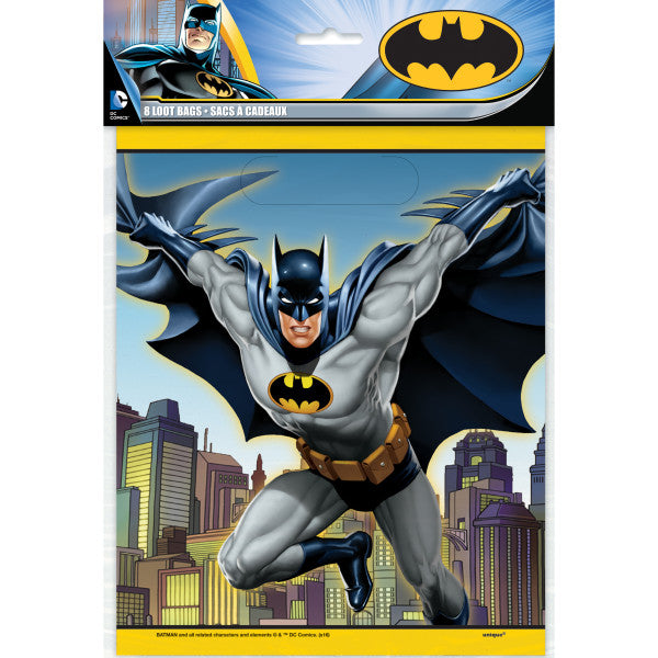 Batman Loot Bags, 8ct