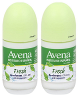 Avena Instituto Espanol Fresh Deodorant Roll On, 75ml (Pack of 2)