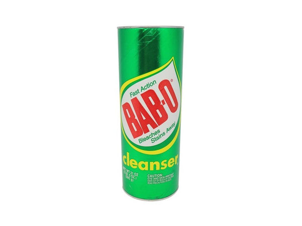 Bab-O Cleaner Fast Action Bleaches Stains Away, 21 oz.