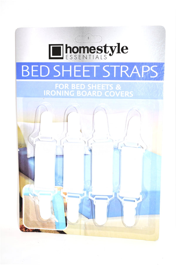 Bed Sheet Straps, 4-ct.