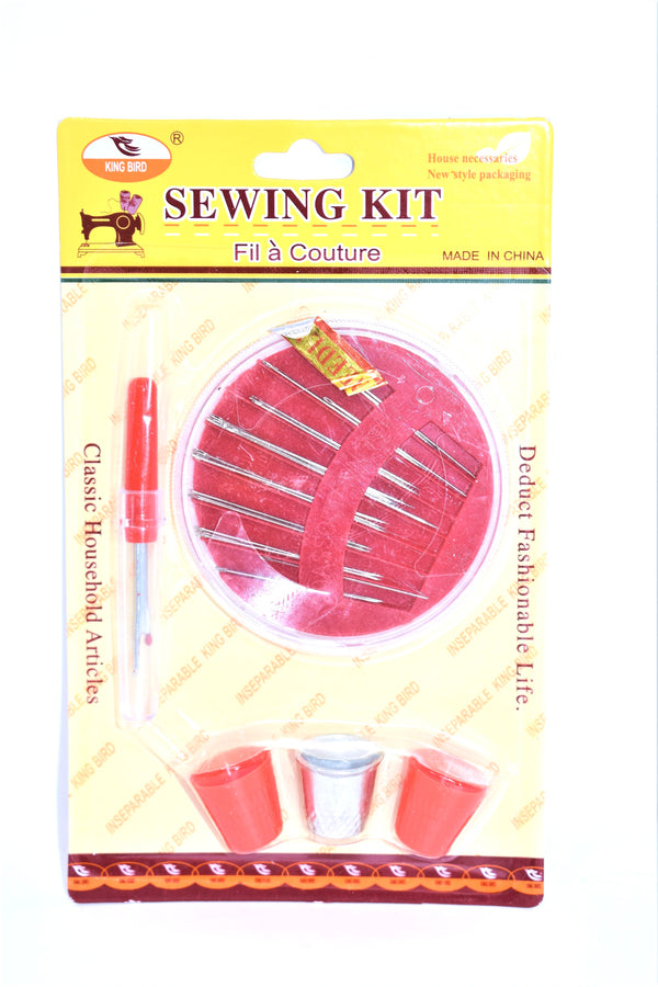 Sewing Essentials - 30 Needles, Seam Ripper and Thimble - Sewing Kit Set