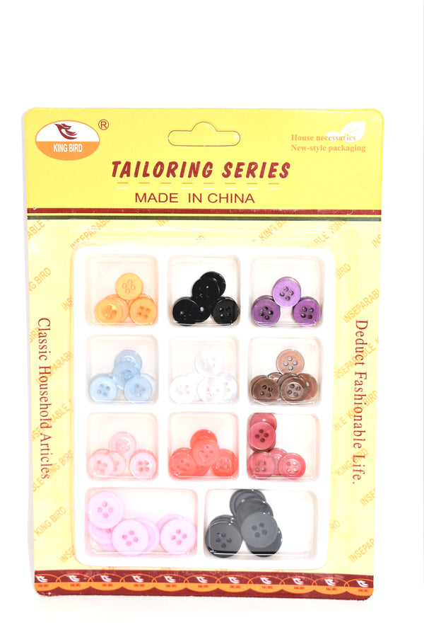 Assorted Colors & Sizes Buttons