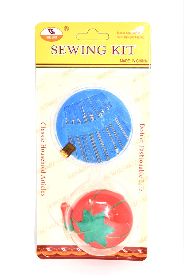 Assorted Sewing Needles with Pin Cushion, 24-ct.