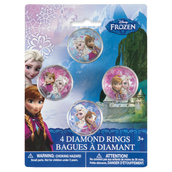 Disney Frozen Gem Rings, 4ct