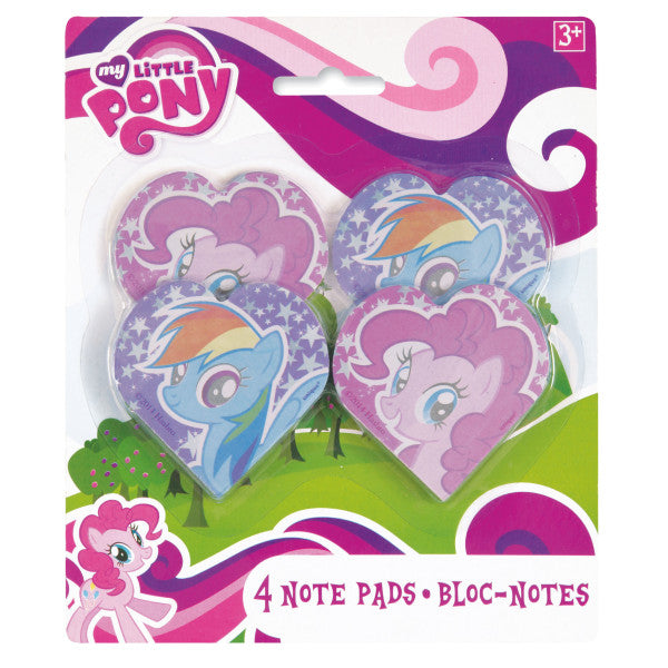 My Little Pony Notepads, 4ct