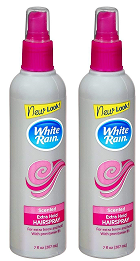 White Rain Extra Hold Scented Hair Spray, 7 fl oz. (Pack of 2)
