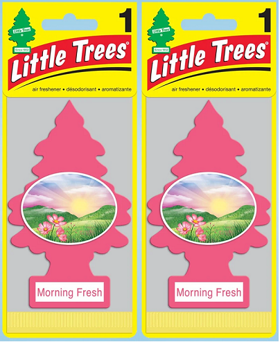 Little Trees Morning Fresh Air Freshener, 1 ct. (Pack of 2)
