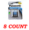 Panasonic AAA Super Heavy Duty Power Batteries, 8 ct.