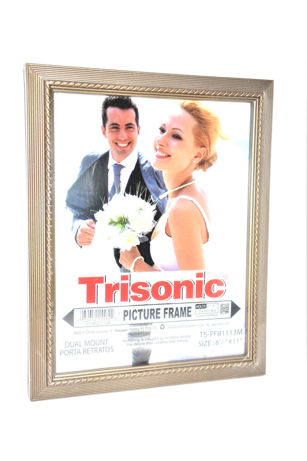 "Designed Picture Frame, 8.5"" x 11"""