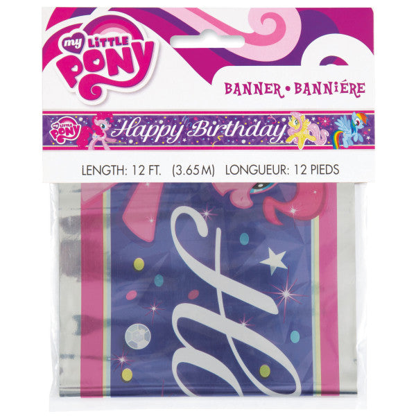 Foil My Little Pony Banner