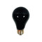 75 Watt Black Party Light Bulb