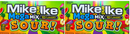 Mike and Ike Mega Mix Sour 10 Flavors, 5 oz (Pack of 2)