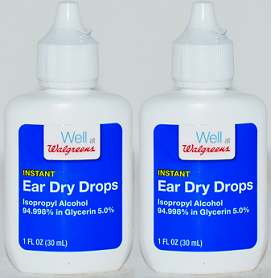 Walgreens Instant Ear Dry Drops, 1 oz (EXP 6/21) (Pack of 2)