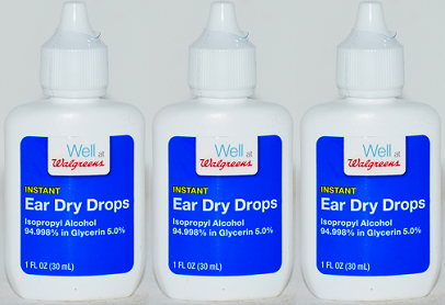 Walgreens Instant Ear Dry Drops, 1 oz (EXP 6/21) (Pack of 3)